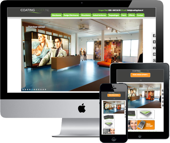 wordpress website coatingvloer.nl